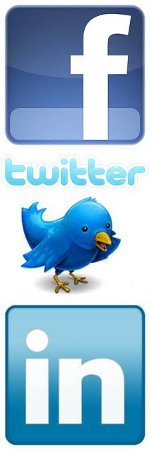 Facebook - Twitter - LinkedIn